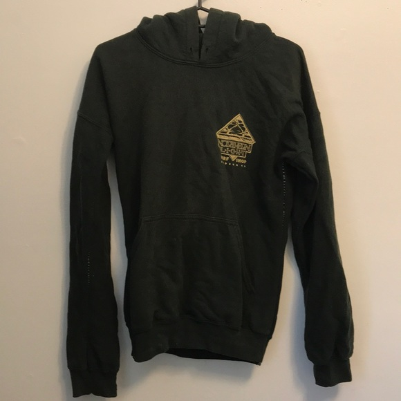 Jackets & Blazers - Surf shack sweatshirt. Sewn to be more fitted. Med